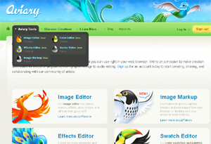 photoshop aviary