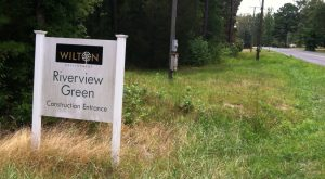 Riverview Green sign