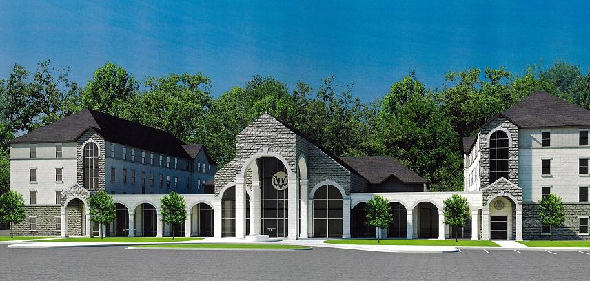 A Rendering Of The New Living Center At Virginia Union. Part 27