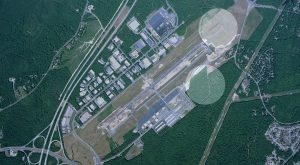 Chesterfield County Airport aerial