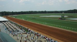 The track at Colonial Downs