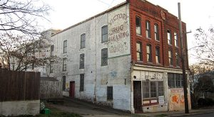 The old Victory Rug building.