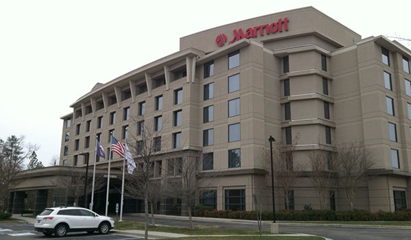 The Richmond Marriott West on Dominion Boulevard in Glen Allen. (Photo by Michael Schwartz)