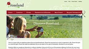 The Roseland website