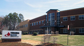The Virginia Blood Services headquarters at 2825 Emerywood Parkway. (Photo by Michael Schwartz)