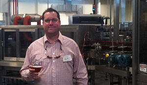 Strangeways Brewing founder Neil Burton. (Courtesy of Capital News Service)