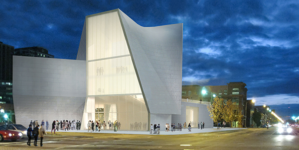 A rendering of the planned $35 million Institute for Contemporary Art. (Photos courtesy of VCU)