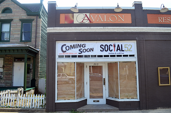 Social 52 Kitchen & Craft Bar is replacing Avalon Restaurant & Bar at 2619 W. Main St.