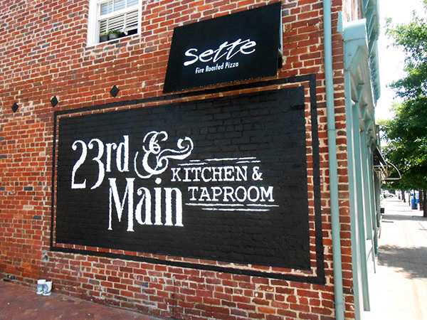 23rd & Main Kitchen & Taproom is set to open July 6. (Photo by Burl Rolett)