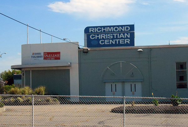 The Richmond Christian Center filed Tuesday for Chapter 11. (Photo by Burl Rolett)