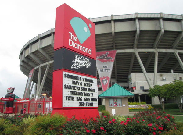 The city will be responsible for demolishing the Diamond if and when a new ballpark is built.