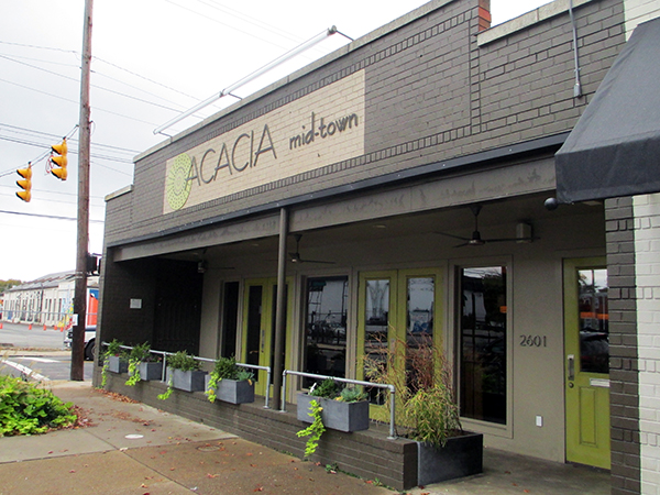 Acacia mid-town on Cary Street.