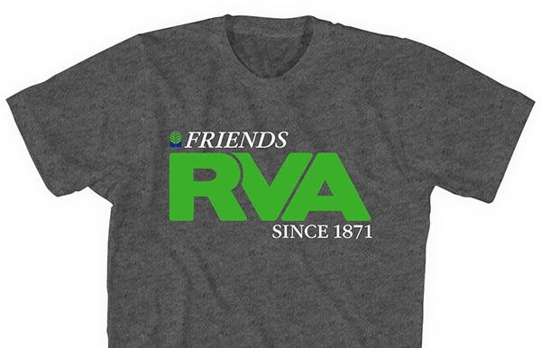 The FRIENDS shirts for sale.