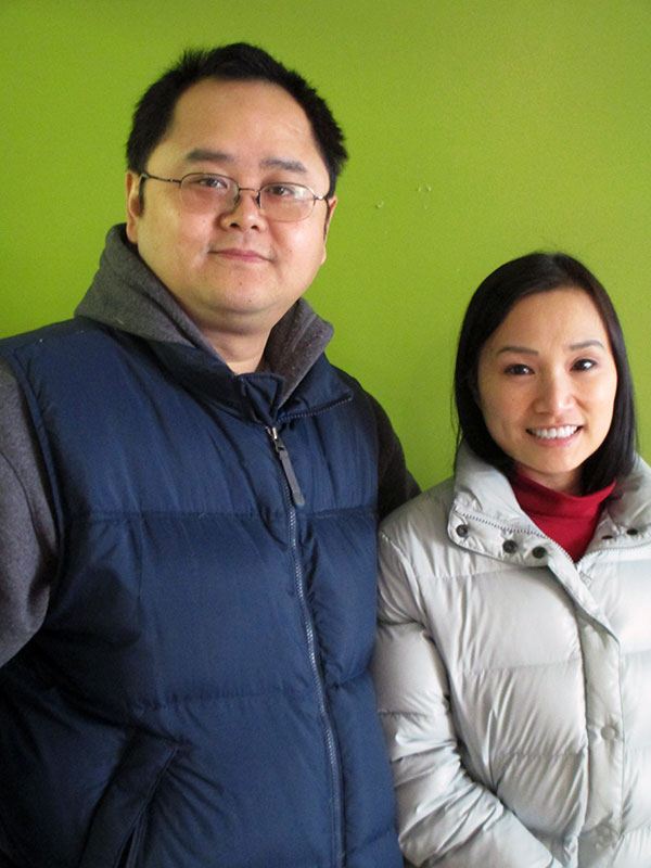 Alex, left, and Wenky Chen.