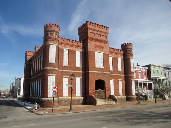 Work on the historic Leigh Street Armory is expected to start this spring. (Photo by Brandy Brubaker)