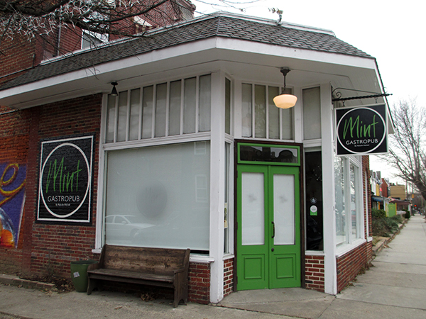 Mint Gastropub is leaving its space at 2501 W. Main St. (Photo by Michael Thompson)