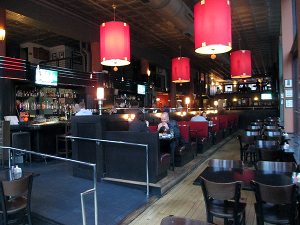 Inside Popkin Tavern, which is set to close Saturday.