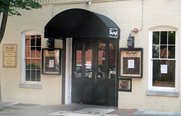 The Richmond Restaurant Group sold Europa on Cary Street in Shockoe Slip (Photo by Michael Thompson.)