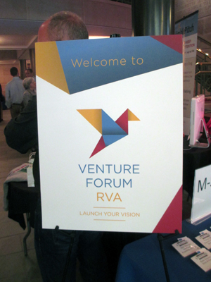 The Venture Forum unveiled a new logo on Thursday. (Photo by Michael Thompson)