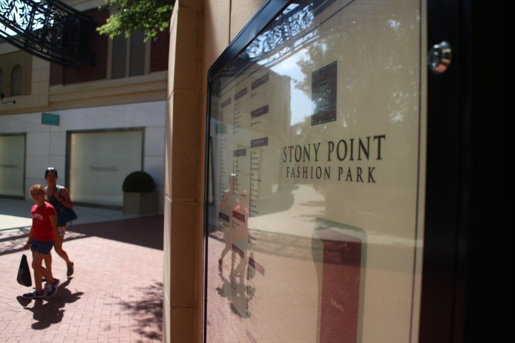 Stony Point Fashion Park was sold last month. Photo by Evelyn Rupert.