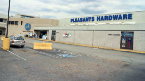 Pleasants is moving to a new location along West Broad Street. Photo by Burl Rolett.