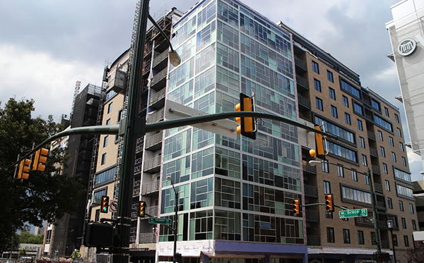 New Apartment Tower Nears Completion