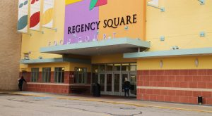 Work this summer will reconfigure entry to the mall from Quioccasin Road(BizSense file photo)