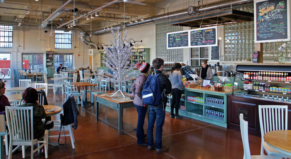 The newest Urban Farmhouse opened in late December. Photo by Michael Thompson.