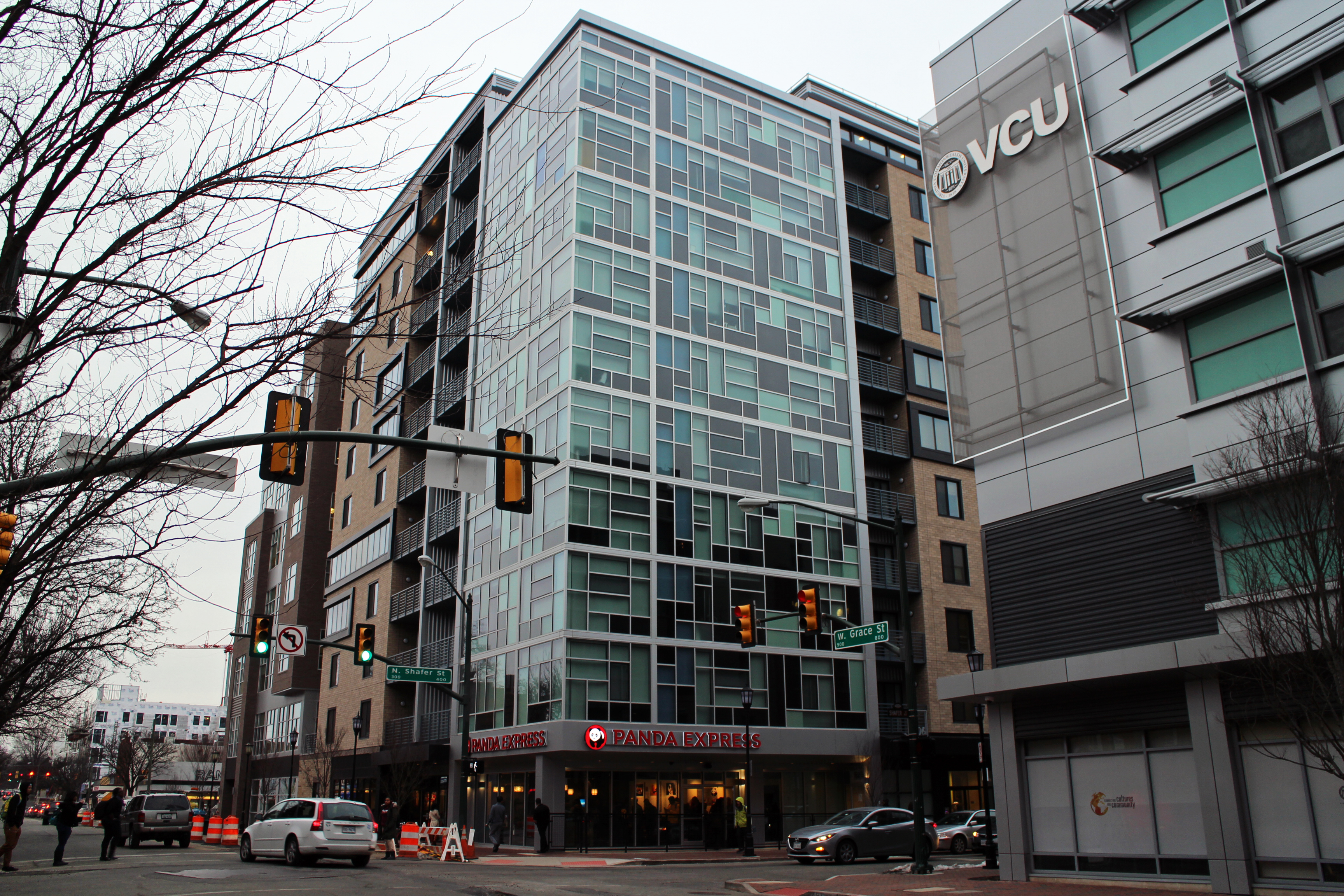 The Apartment And Retail E At 900 W Grace St Was Finished Last Summer