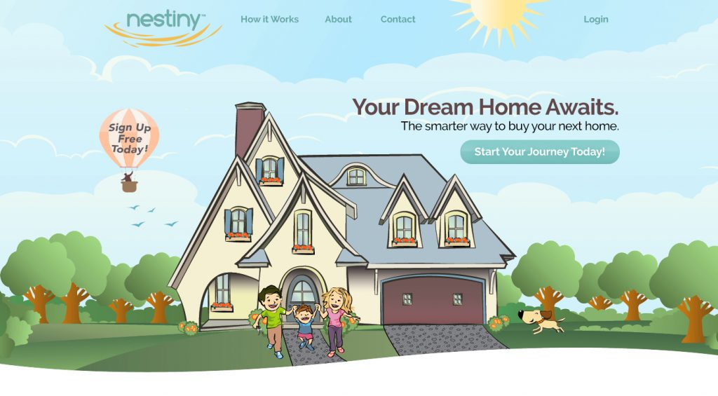A local real estate agent has launches a new online service for homebuyers and other agents. Images courtesy of Nestiny.