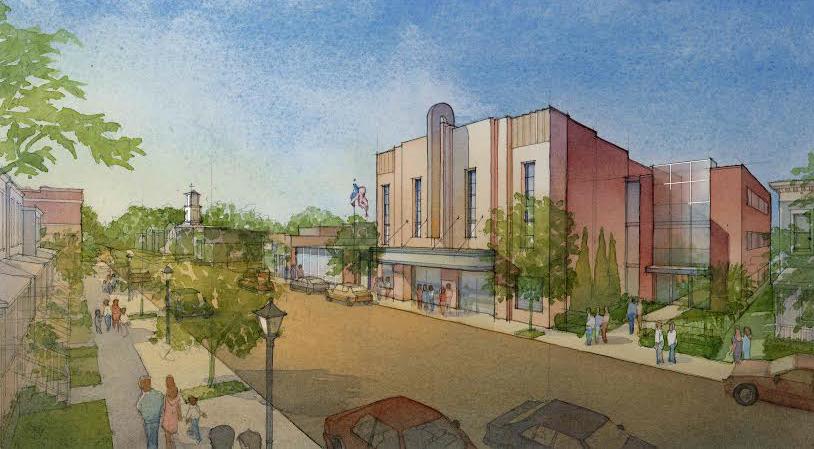 Garage Bilder church hill developer wraps up theater project turns to garage