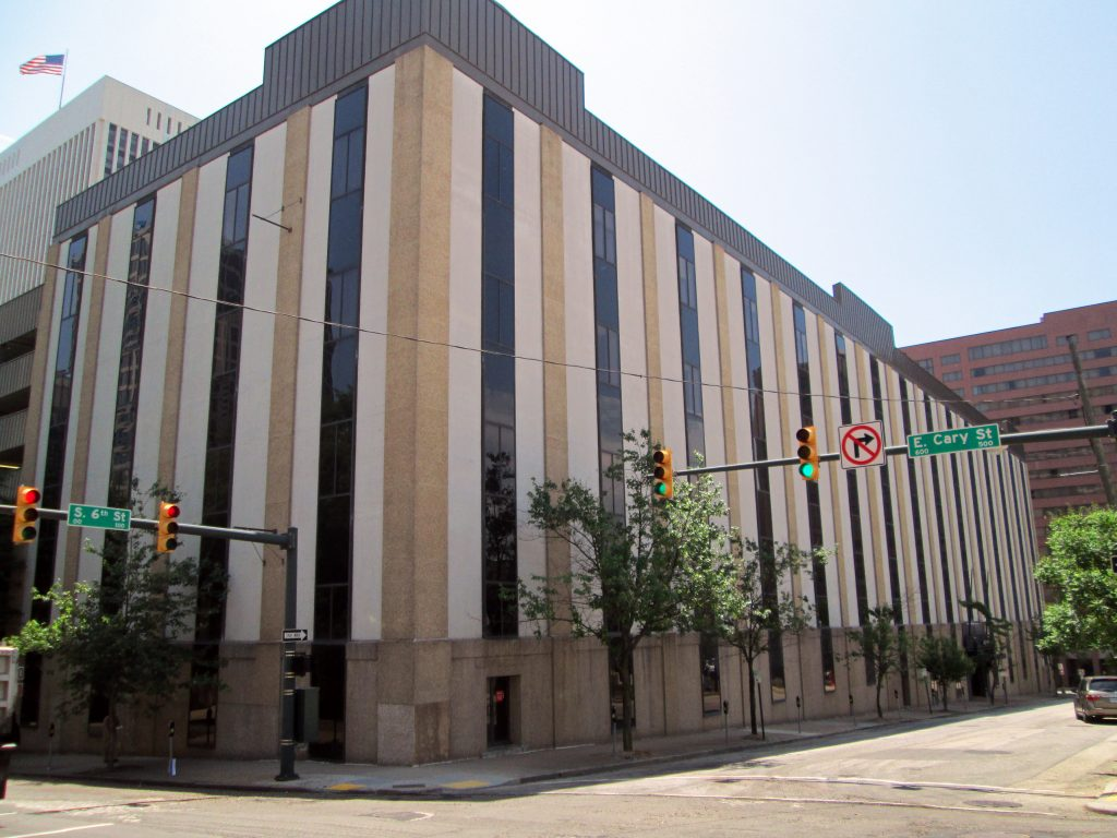 The Richmond Plaza building has mostly been used for its parking since Dominion bought it four years ago.