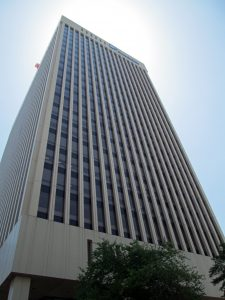 Dominion's current headquarters at One James River Plaza.