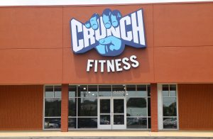 Crunch has locations in about 90 cities across the country, according to its website.