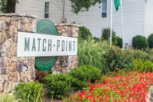 The Match Point apartment project also fetched $12.3 million. Photo courtesy of Capstone Apartment Partners.
