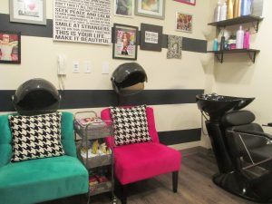 Hairstylist Nina Rae rents out a space in the Carytown StylePod.