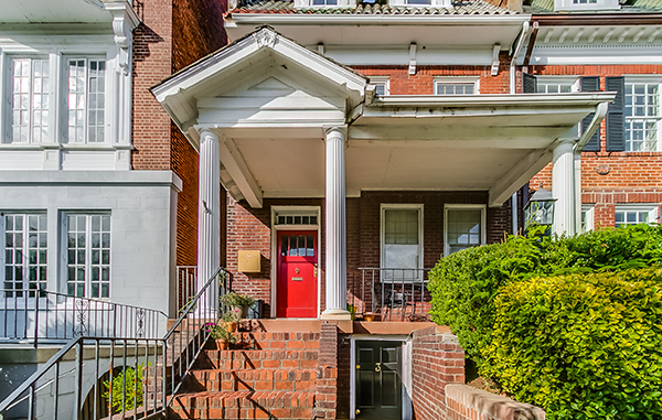 The property at 2217 Monument Ave. has been put on the market. Photos courtesy of Robb Moss, The Steele Group Sotheby's International Realty.