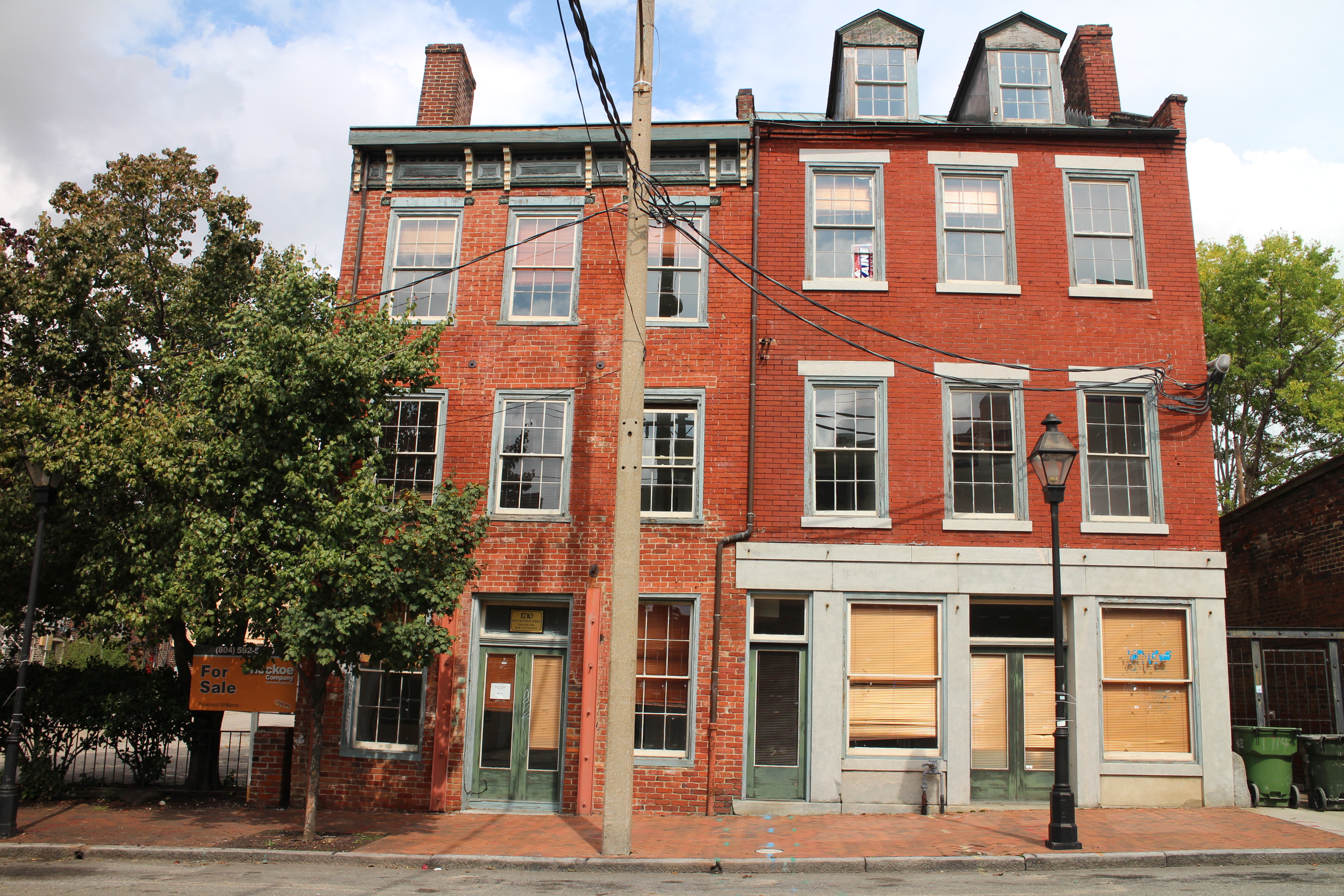 170-year-old building set for apartment rehab - Richmond