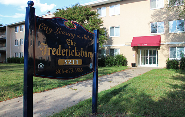 The Fredericksburg apartment complex was one piece of a portfolio that recently changed hands. Photos by Katie Demeria.