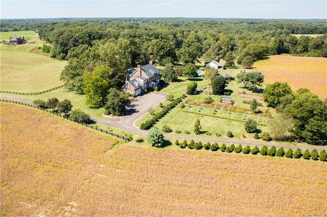 A 40-acre property has been put up for sale in Hanover County. Photos courtesy CVRMLS.