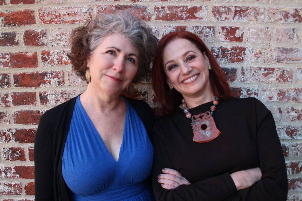 Diane Cook-Tench (left) and Helayne Spivak