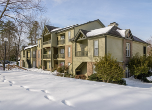 Hickory Creek Apartments was listed on Feb. 2. Photo courtesy of Colliers International.