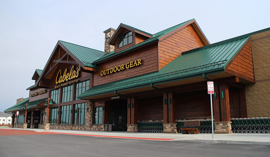 The store is Cabela's first in Richmond and its second in Virginia.