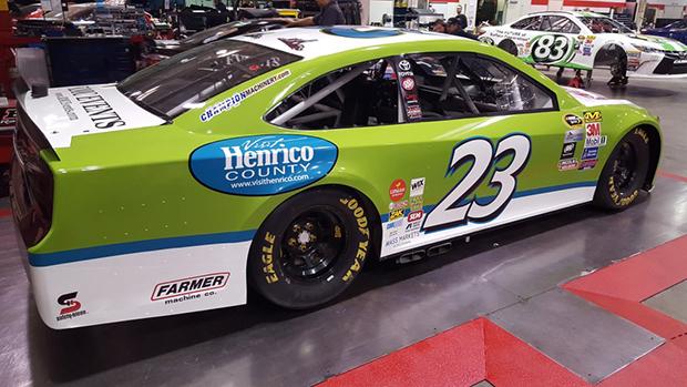 NASCAR team sees rush of local logos - Richmond BizSense