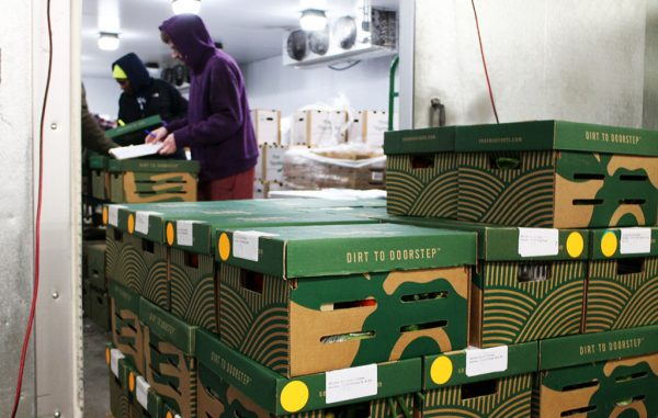 Seasonal Roots began operating in the Scott's Addition warehouse last week. (Mike Platania)