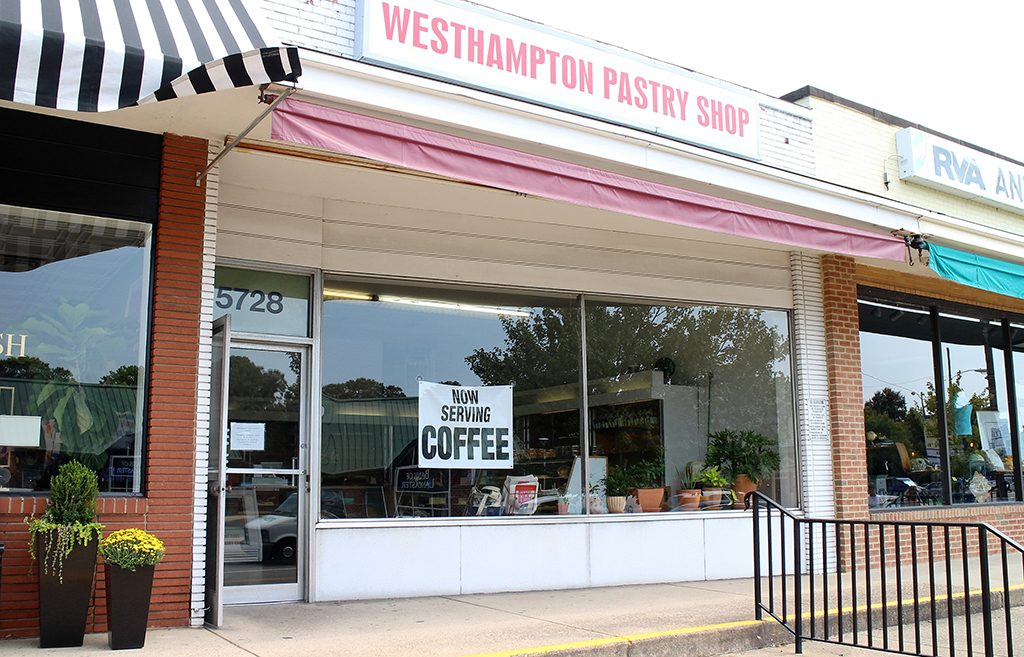 The Westhampton Pastry Shop at 3222 Patterson Ave. (J. Elias O'Neal)