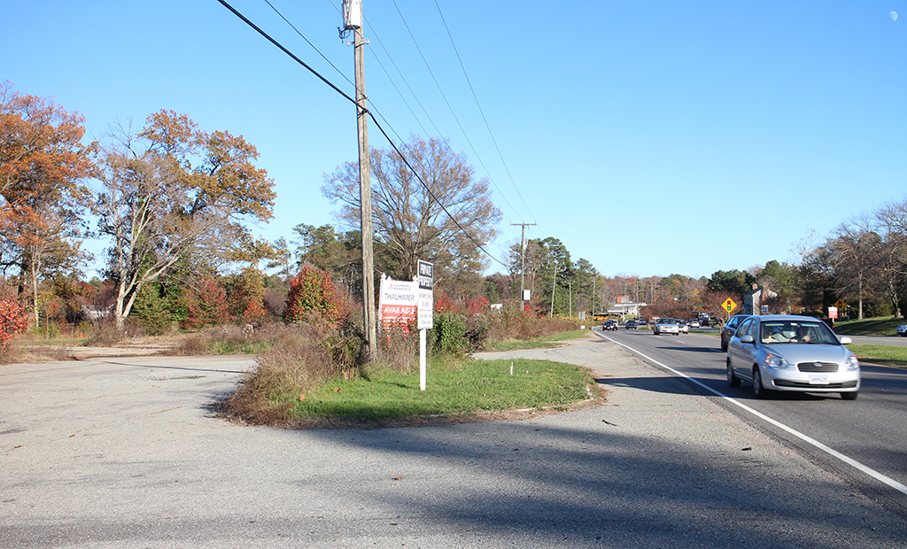 The Winterfield Crossing site along Midlothian Turnpike. (Jonathan Spiers)