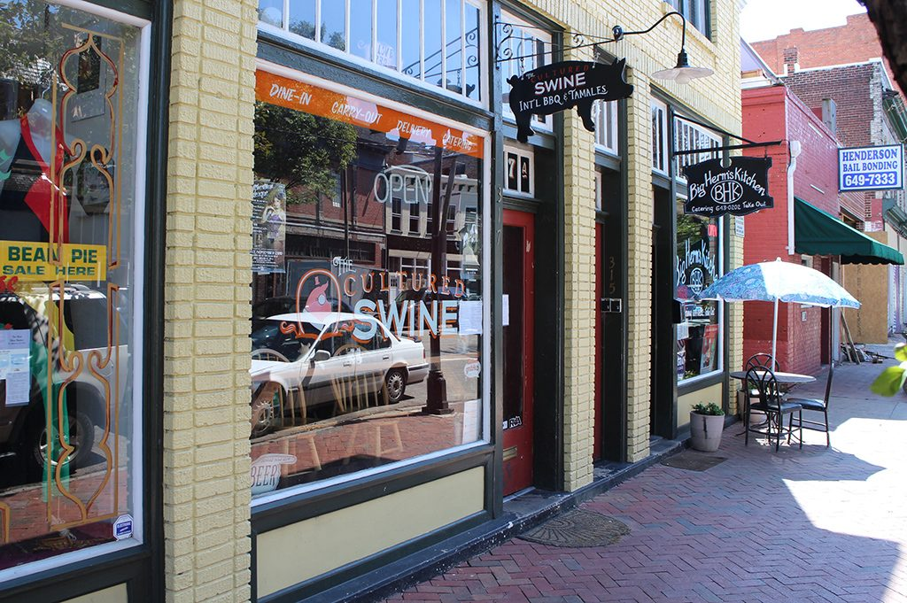 The Cultured Swine, located at 317 N. Second St., will serve its last dish at the Jackson Ward location Friday. (J. Elias O'Neal)