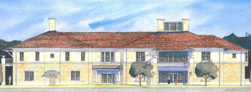 New Community School is launching the construction of a 15,700-square-foot academic building. (Rendering by Pat McClane)