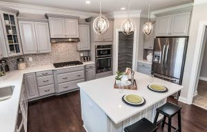 Eastwood Homes' entry in Chesterfield's Ramblewood Forest won best kitchen in the $491,000-$530,000 furnished category. (Courtesy Eastwood Homes)